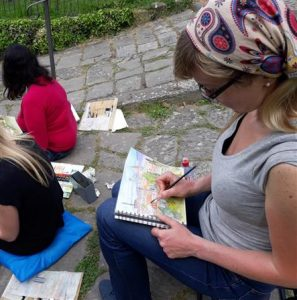 18th – 25th May Florence Watercolour Course