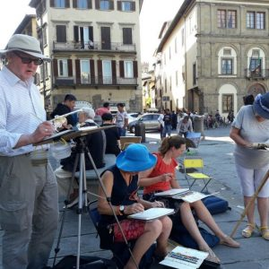 23rd - 30th May 2020 Florence Watercolour Course