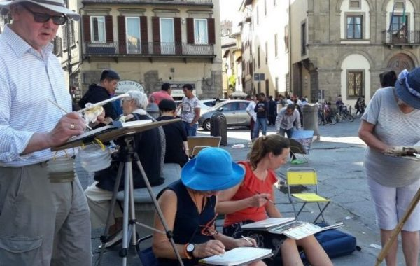 23rd – 30th May 2020 Florence Watercolour Course