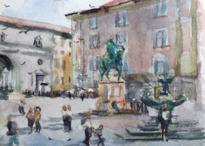 18th - 23rd April 2020 Florence Watercolour Course