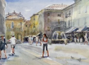 2nd - 7th May 2020 Florence Watercolour Course