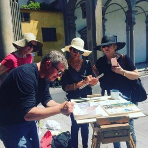 26th September - 3rd  October 2020 Florence Watercolour Course