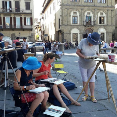 13th-18th June 2020 Florence Watercolour Course