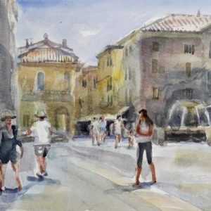 18th-23rd April 2020 Florence Watercolour Course