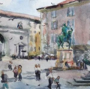 8th-13th May 2021 Florence Watercolour course