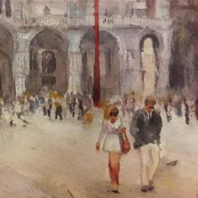 8th – 13th May 2020 Watercolour Painting in Venice