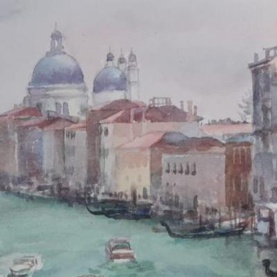 31st May – 5th June 2020 Watercolour Painting in Venice
